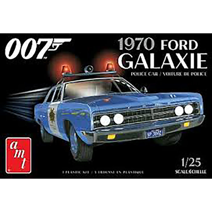 1/25 1970 Ford Galaxie Police Car 2T Skill 2