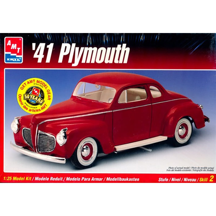 1/25 1941 Plymouth Coupe 2T Skill 3