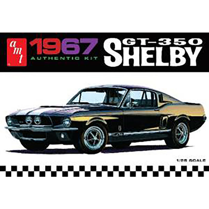 1/25 1967 SHELBY GT360 WHITE