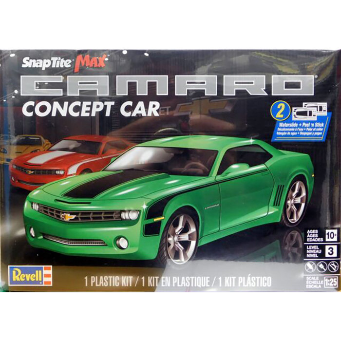 SnapTite Maxx Camaro Concept Car Skill 3