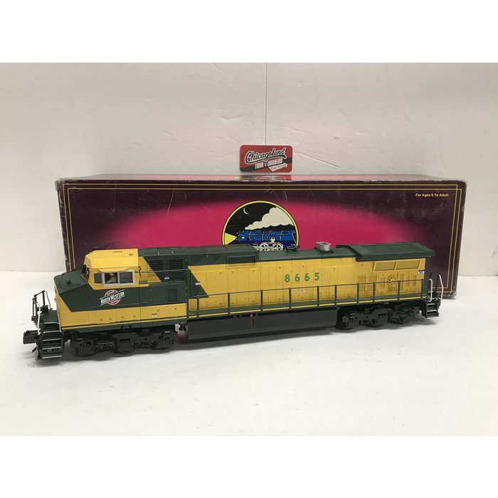 MTH 20-2561-1 O Dash-9 C&NW #8665 W/PS2