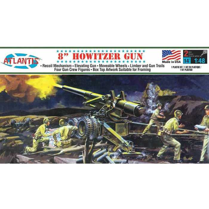 1:48 US Army Howitzer 8''