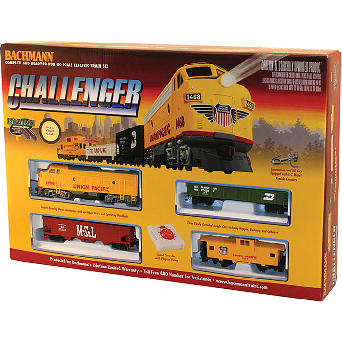 HO Challenger Freight Set/UP F7