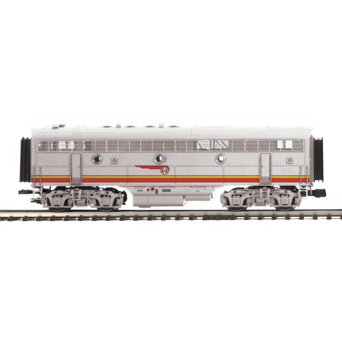 MTH 20-21033-3 O F3B Diesel SF #32A/Dmy./Hi-Rail