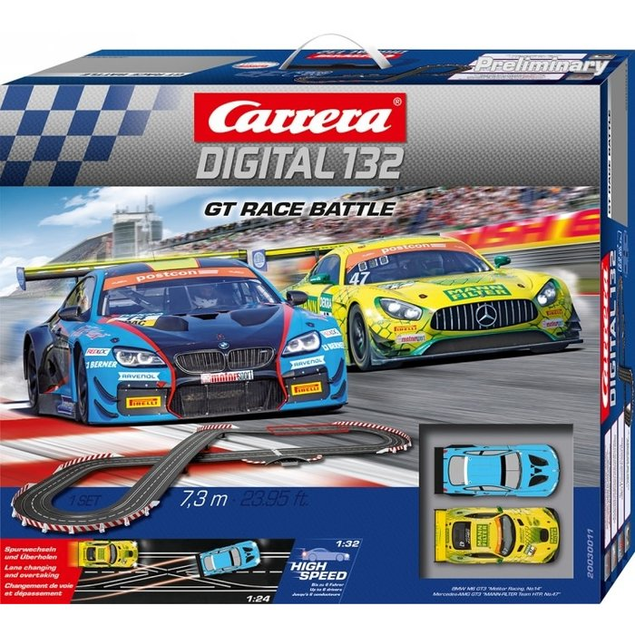 GT Race Battle, Digital 132 Set w/Lights