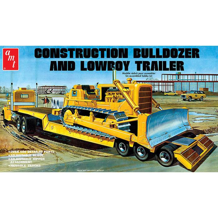Lowboy Trailer & Bulldozer Combo Skill 3