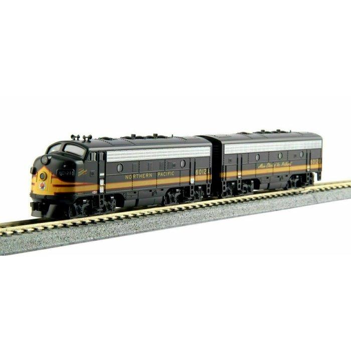 N F7 A/B Diesels NP #6012D 6012C/Dual Headlight  w/DCC