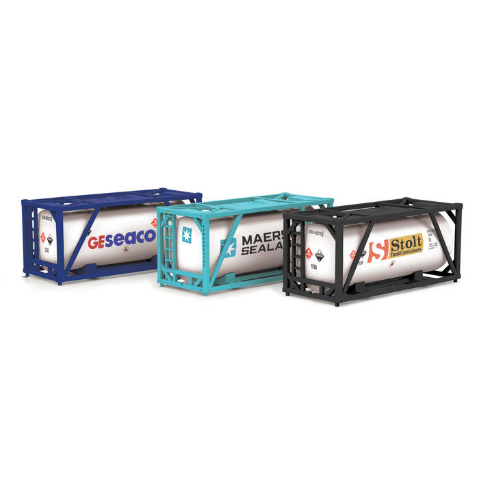 O  20' Tank Containers/3pk