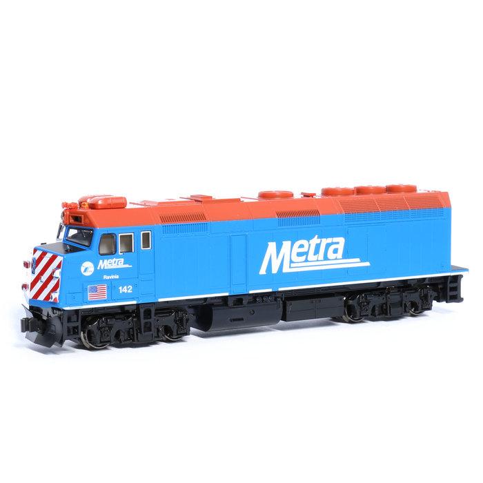 N F40PH Diesel Chicago Metra #142 Ravina/DCC