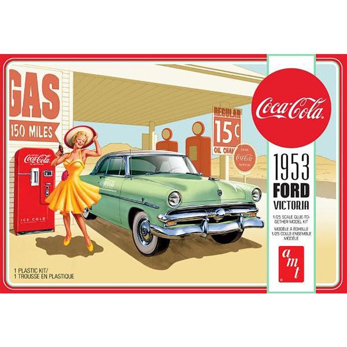 1953 Ford Victoria Hardtop w/Coca-Cola Machine 2T Skill 3