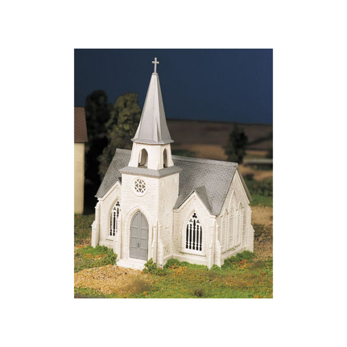 O Plasticville Cathedral Kit