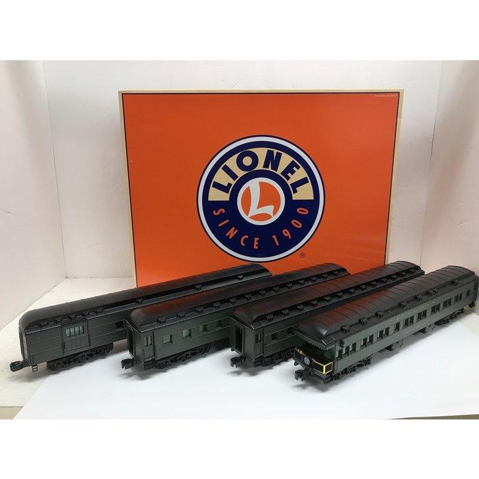 "Lionel 6-25503 O ""California Limited"" 4-Car Heavyweight Pass Set SF"