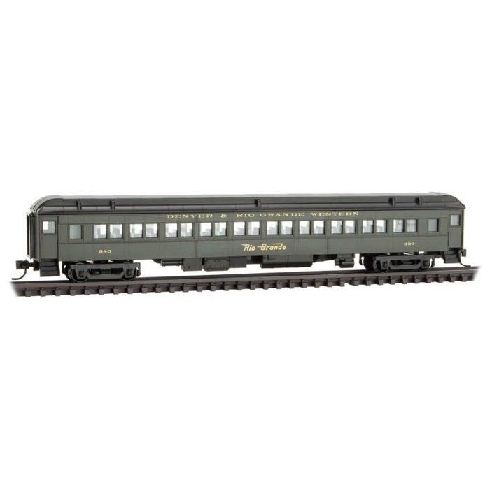 N 78' Heavy Coach D&RGW   #980