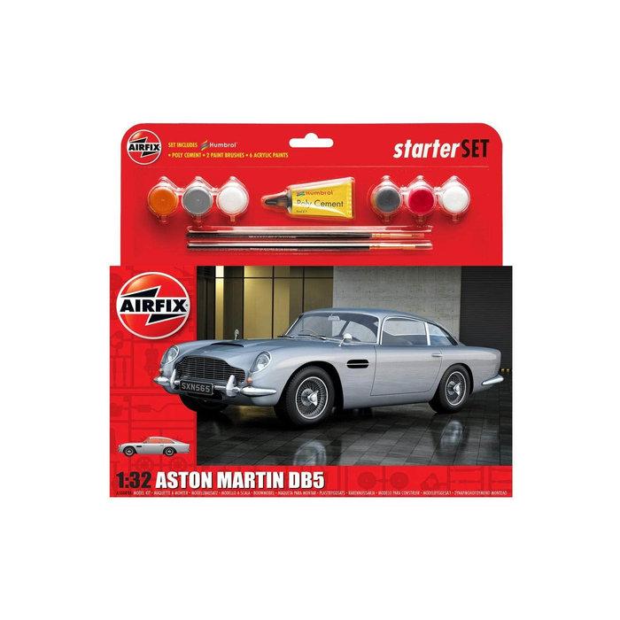 King's Hobby Aston Martin DB5 Silver Starter Set 1:32