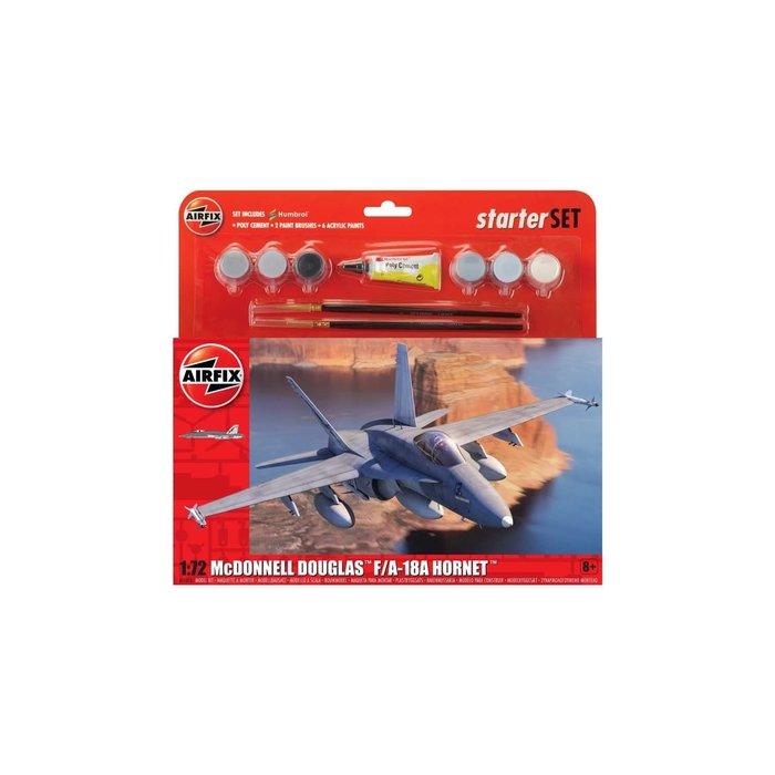 1:72 Large Starter Set - McDonnell Douglas F-18A Hornet