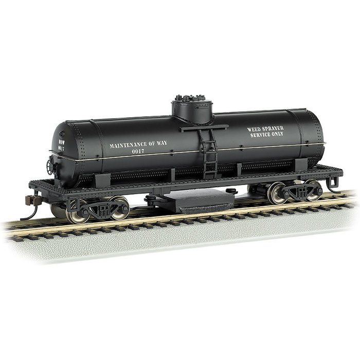 HO Track Cleaning Tank Car MoW