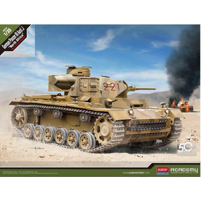 "1/35 German Panzer III Ausf. J ""North Africa"""