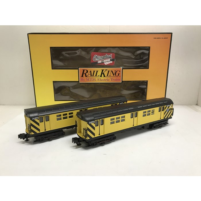 MTH 30-2273-3 O R-17 MTH Work Train 2-Pack (Non-PWD)