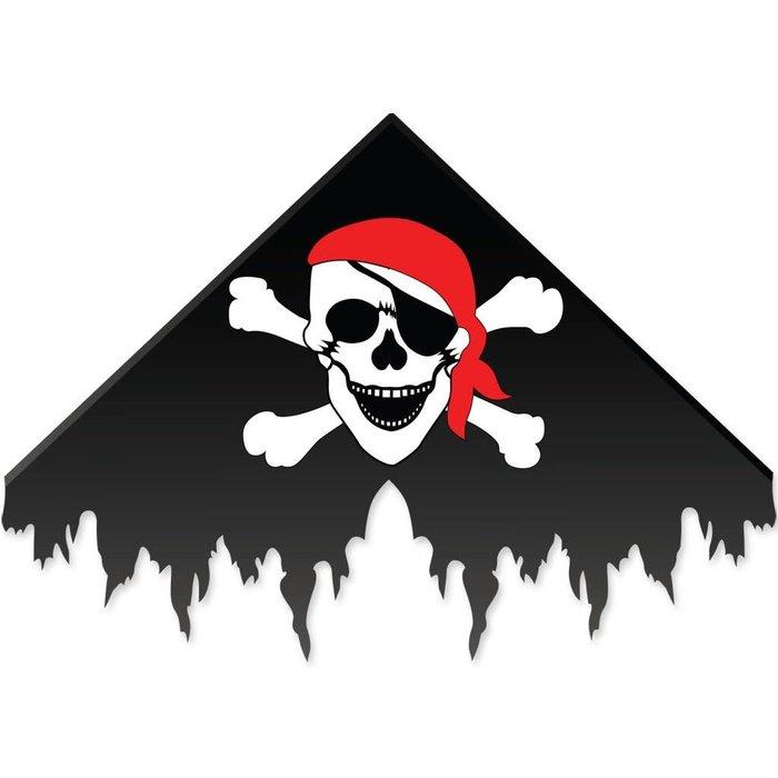 Pirate Delta Kite - Black