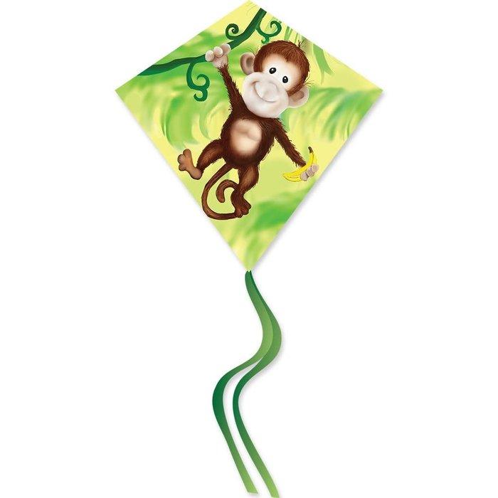 25 in. Diamond Kite - Monkey