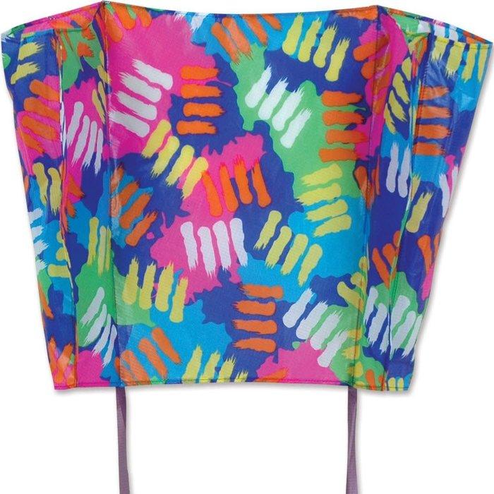 Big Back Pack Sled Kite - Splatters