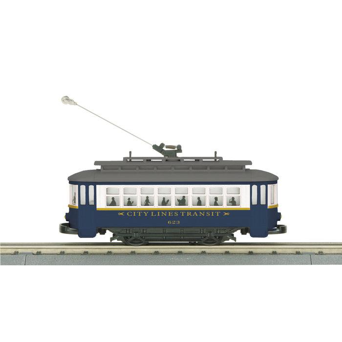 O City Lines Bump-n-Go Trolley