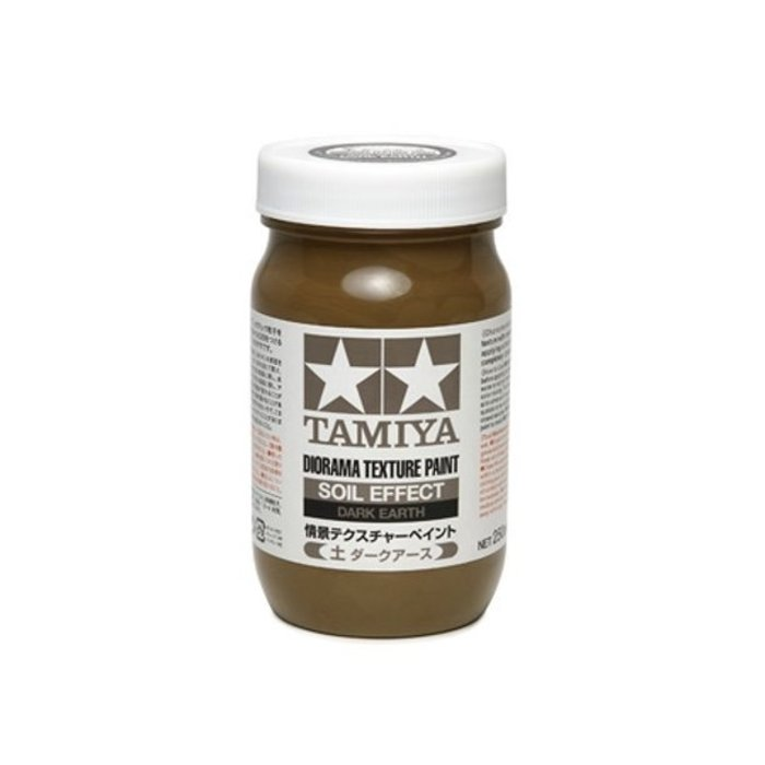 Diorama Texture Paint 250ml - Soil Effect  Dark Earth