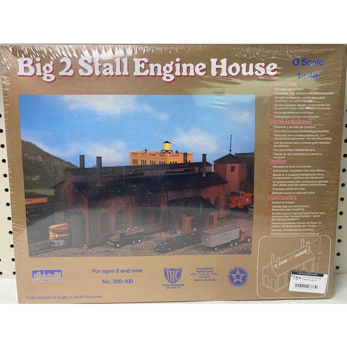O 2-Stall Engine House Kit