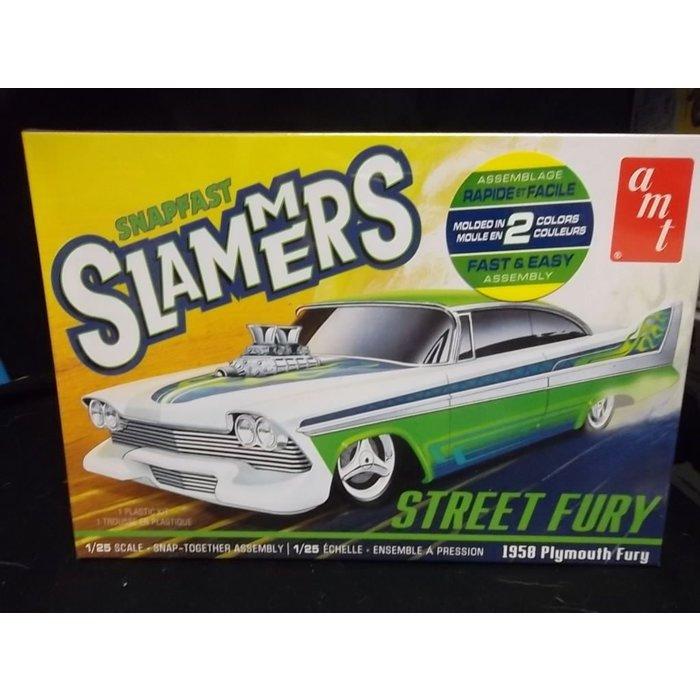 Street Fury 1958 Plymouth - Slammers SNAP Skill 1
