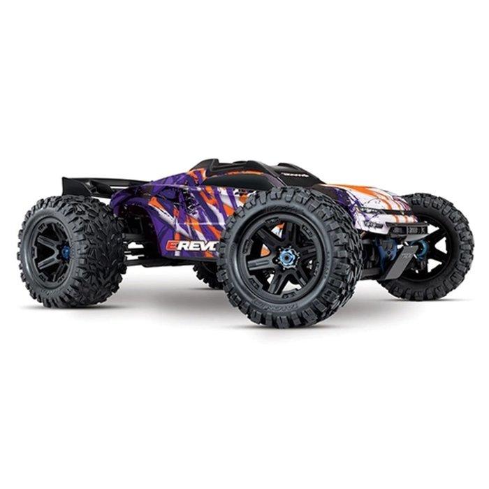 1/10 E-Revo® VXL Brushless:  4WD Purple
