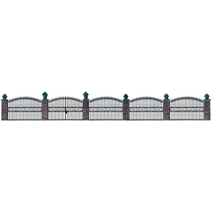 HO Wrought Iron Fence