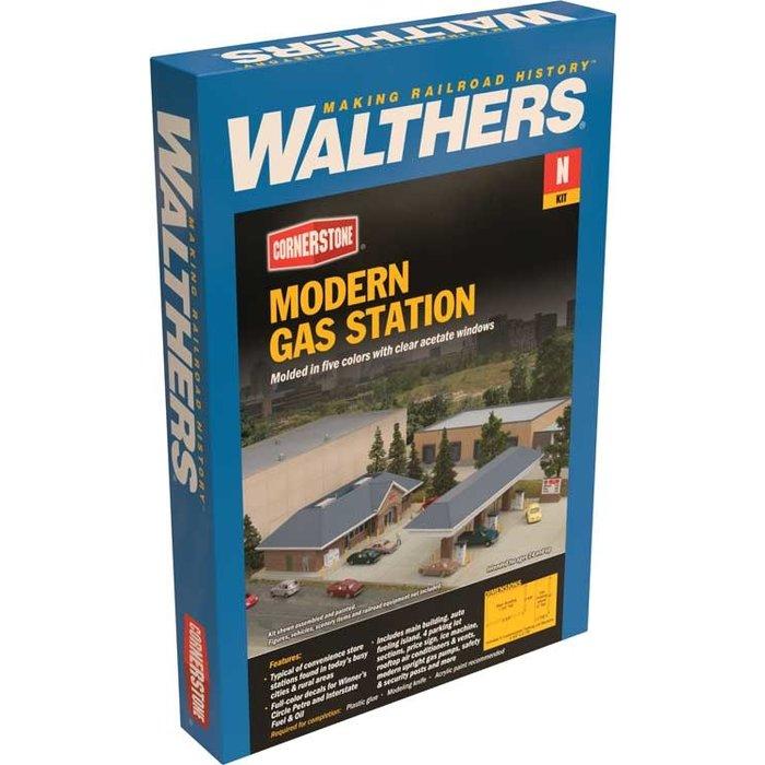 N Modern Gas Station Kit