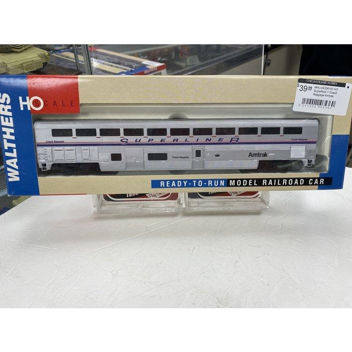 HO Superliner 1 Coach Baggage Amtrak
