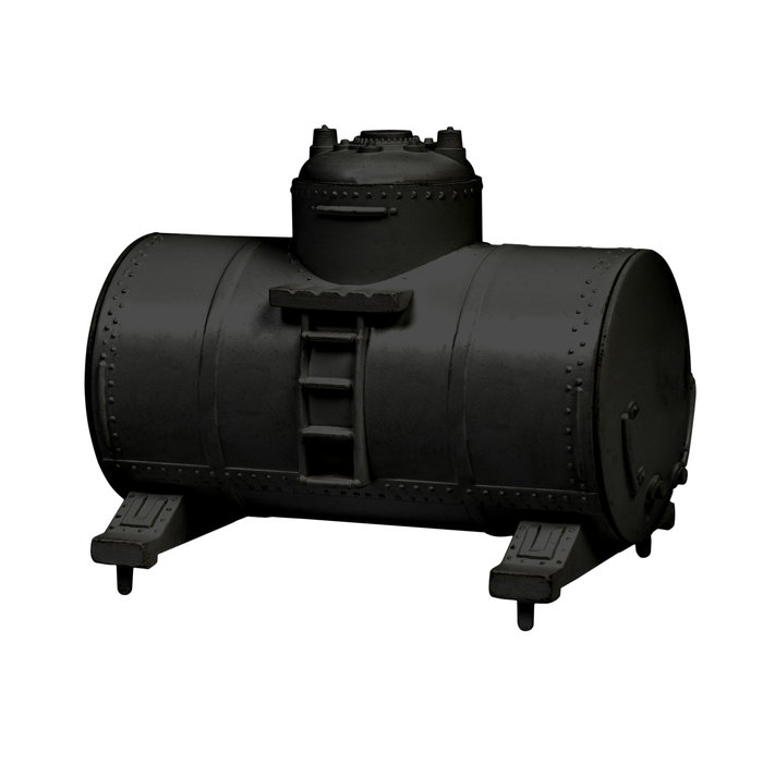 HO Tank Containers 4pk - black