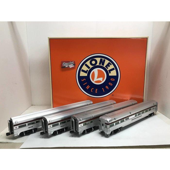 """Lionel 6-25450/55/58 O 18"""" Alum. PRR Cong. Pass Set (7-Cars)"""
