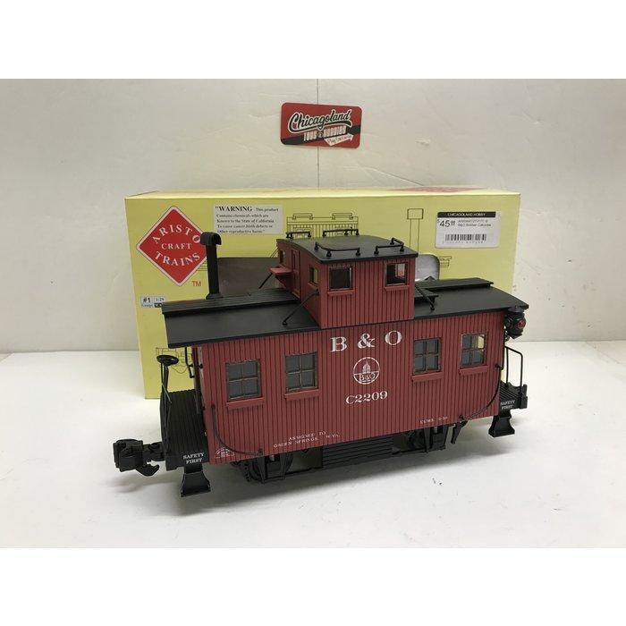 Aristo-Craft Trains ART21311C G B&O Bobber Caboose