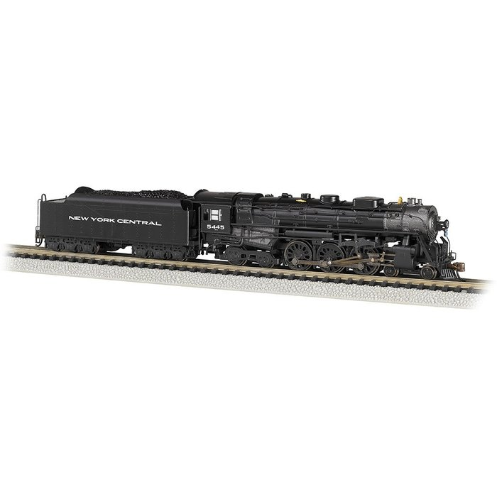 N NYC 4-6-4 Hudson Steam Loco #5445/DCC Sound
