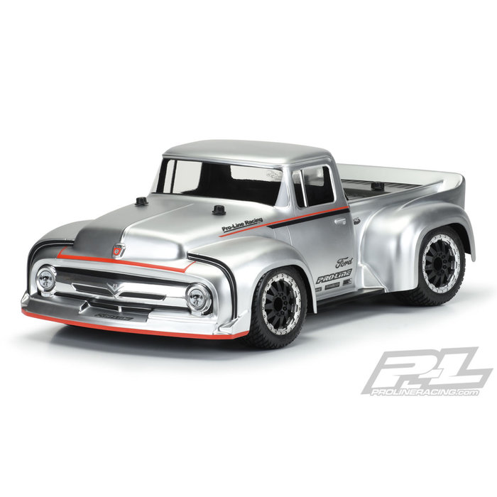 1/10 1956 Ford F-100 clear body Pro-Touring street track