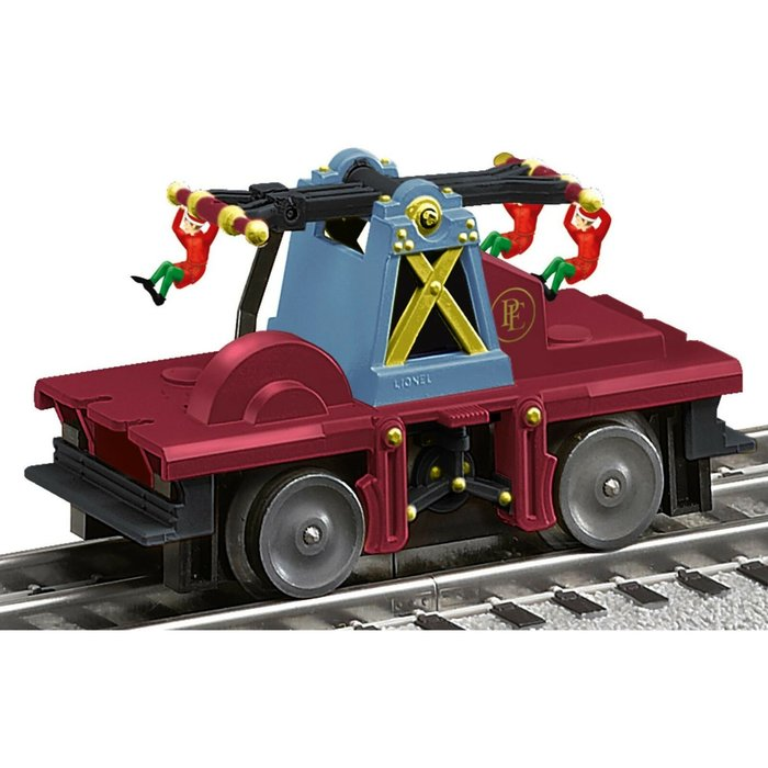 O Polar Express Elf Handcar