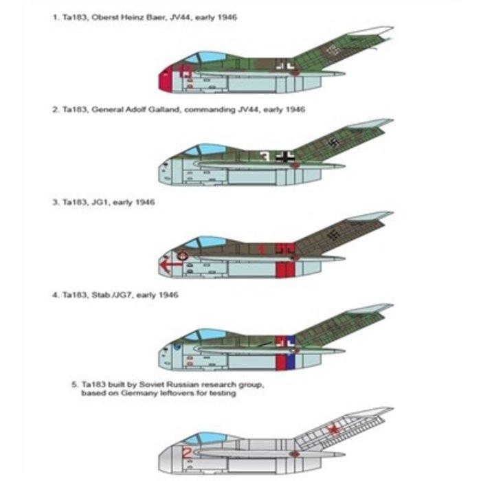 1/48 Focke-Wulf Fw Ta 183 Huckebein Kit