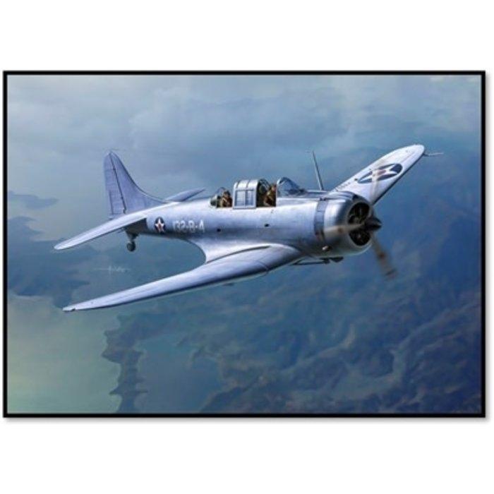 "1/48 SBD-1 ""Pearl Harbor"" USMC Kit"