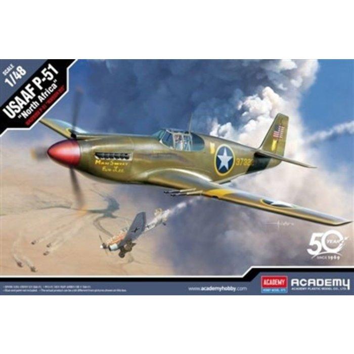 "1/48 P-51 ""North Africa"" USAAF Kit"