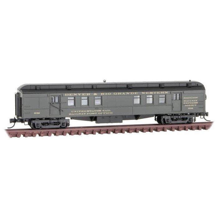 N RPO Heavy Passenger D&RGW - Rd#632