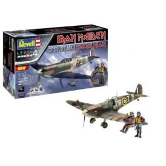 Iron Maiden Aces High Spitfire Mk. Ii Gift Set Skill 4