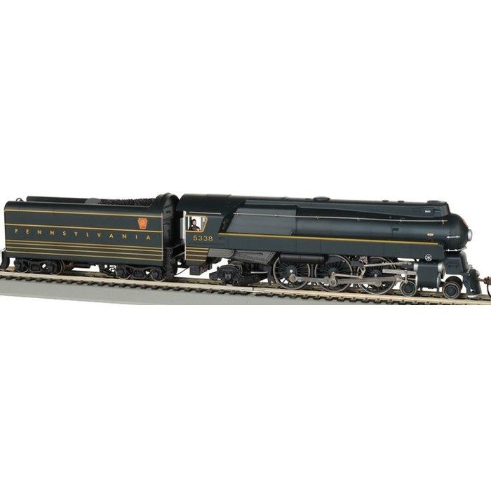 HO Streamlined K4 4-6-2 Pacific Steam Loco PRR #5338/WOWSoun
