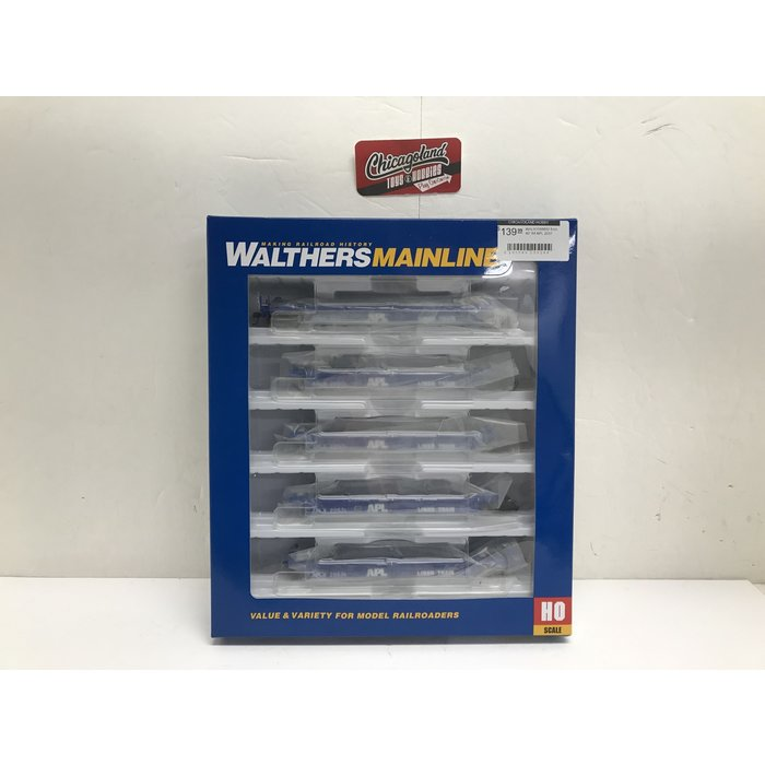 Walthers 910-55602 5-Ut 40' Wl APL 2057