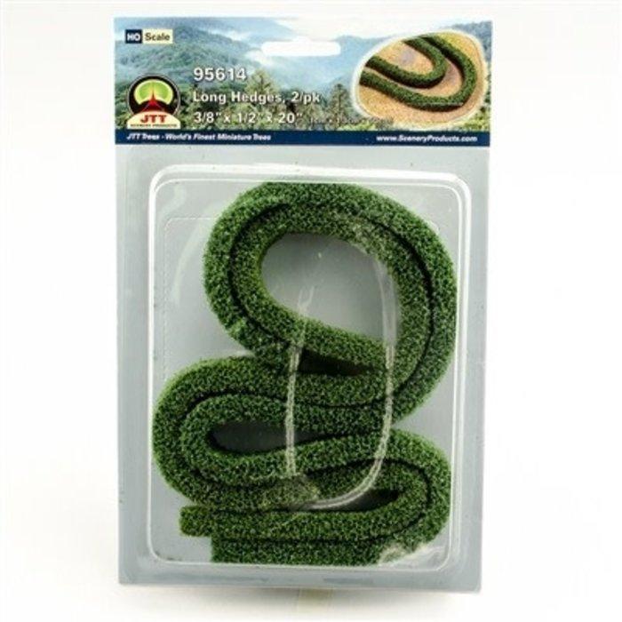 Long Hedges 3/8''x 1/2''x 20'' HO-scale 2/pk