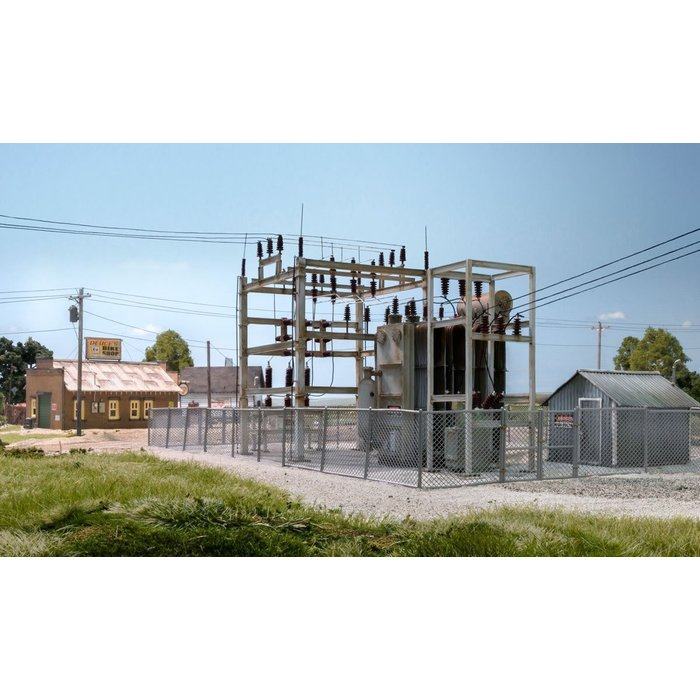 N Scale Substation