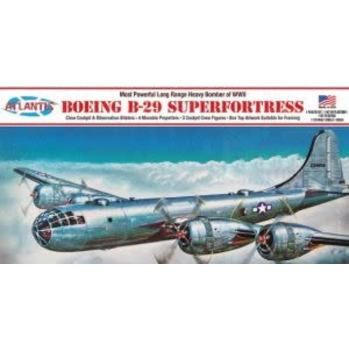 1:120 Boeing B-29 Superfortress with Swivel