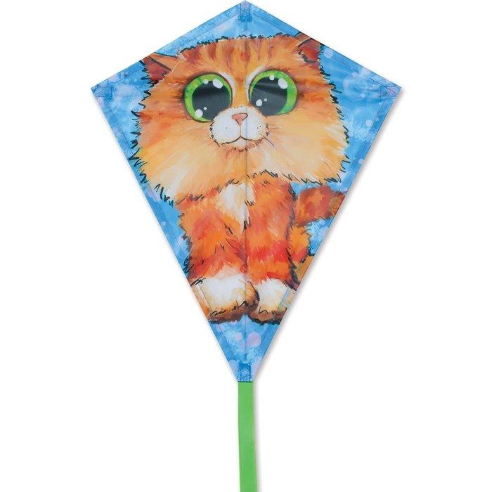 25 in. Diamond Kite - Playful Kitty